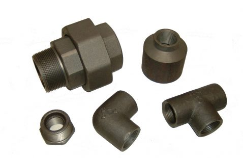 Forged steel fittings,